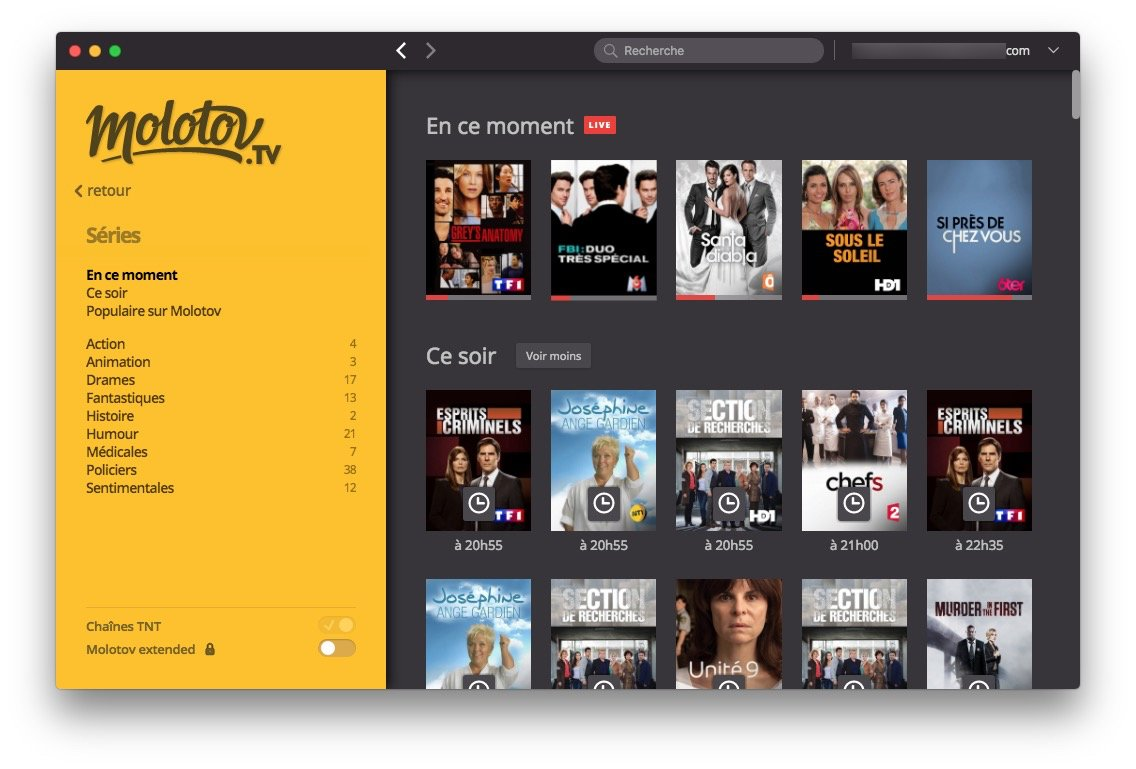 Regarder la TV sur Mac chaines francaises