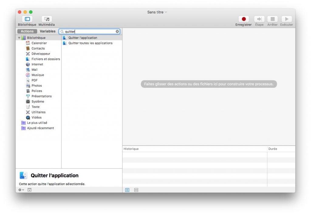 accelerer apple mail mac os sierra barre de recherche