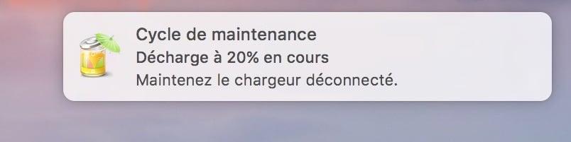 Entretenir la batterie de son MacBook decharge