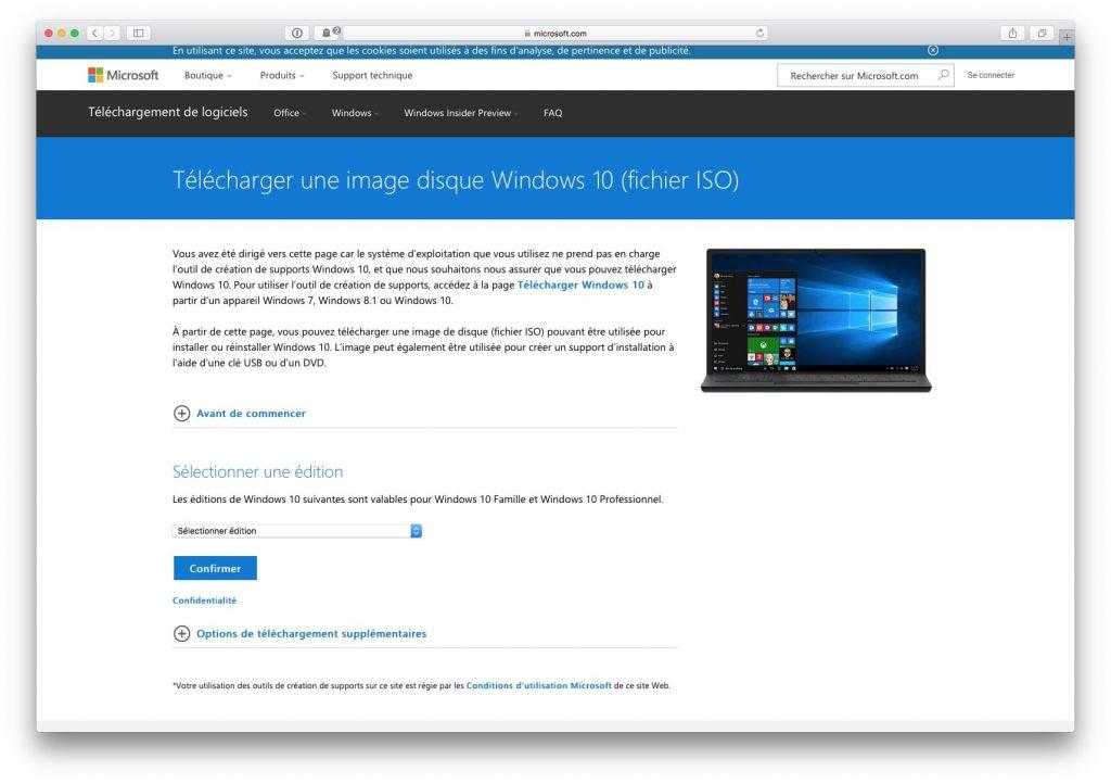 telecharger gratuitement windows 10 32 ou 64 bits