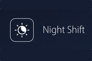 Night Shift mac OS Sierra tutoriel