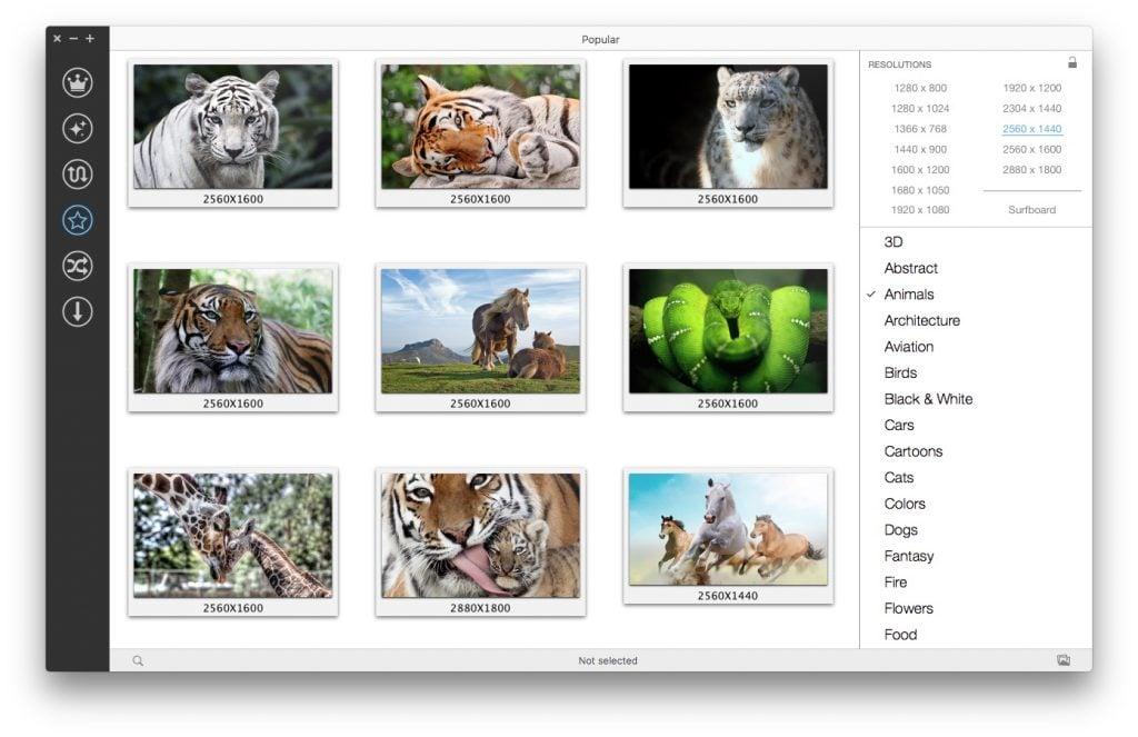 Changer automatiquement le fond d'écran Mac fond ecran aleatoire mac os sierra