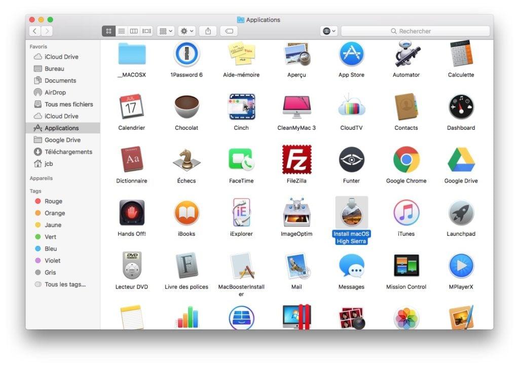 Installer macOS High Sierra avec Parallels Desktop en machine virtuelle pour essayer os apple