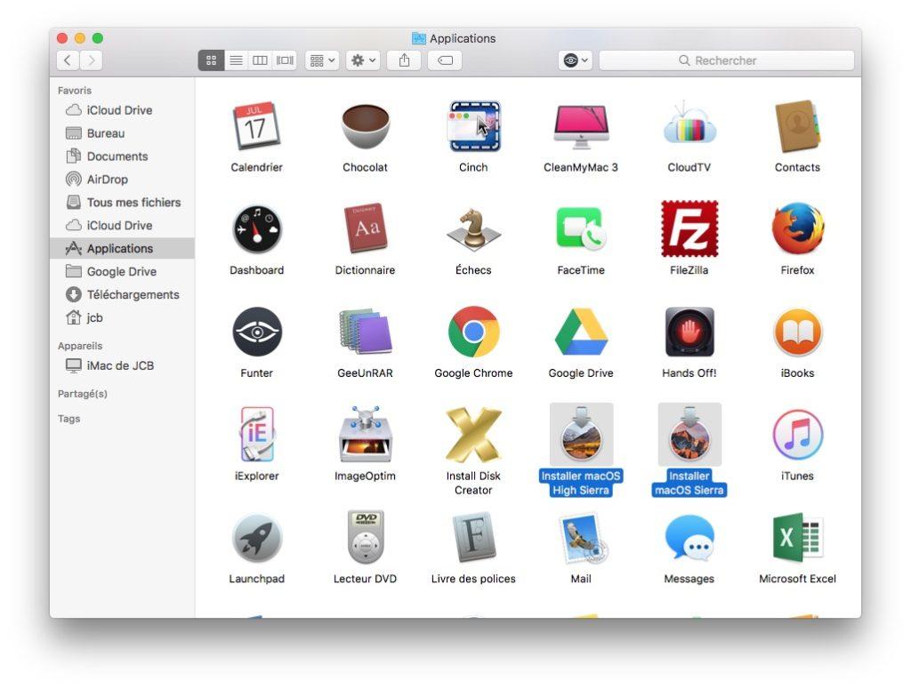 Trouver le numero de version de son Mac depuis package macos