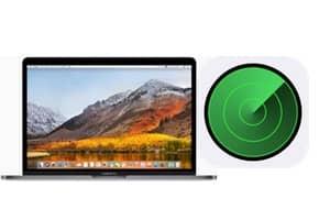 Localiser mon Mac macbook iphone ipad