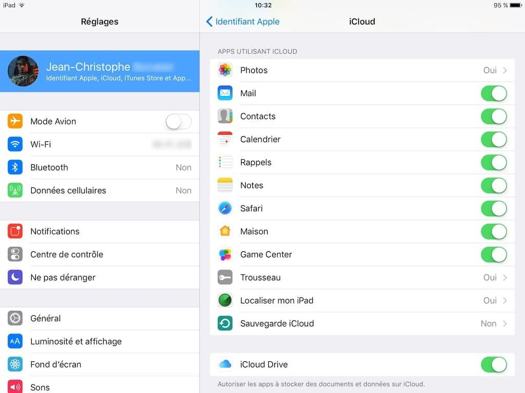 Localiser mon iPad
