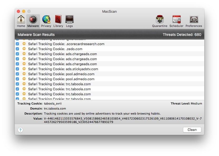 Supprimer les malwares sur Mac