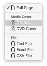 Imprimer une fenetre du Finder sur Mac format