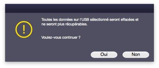 reparer un disque sur mac avec une cle usb