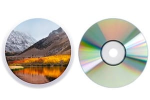 Graver macOS High Sierra sur un DVD tutoriel