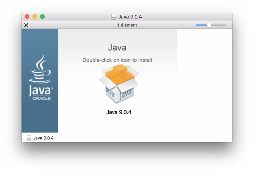 Installer Java macOS High Sierra version Java 9.0.4