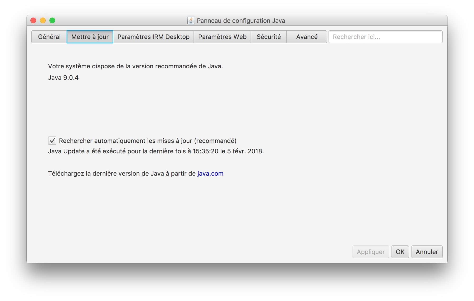 Installer Java macOS High Sierra (10 13) : mode d'emploi
