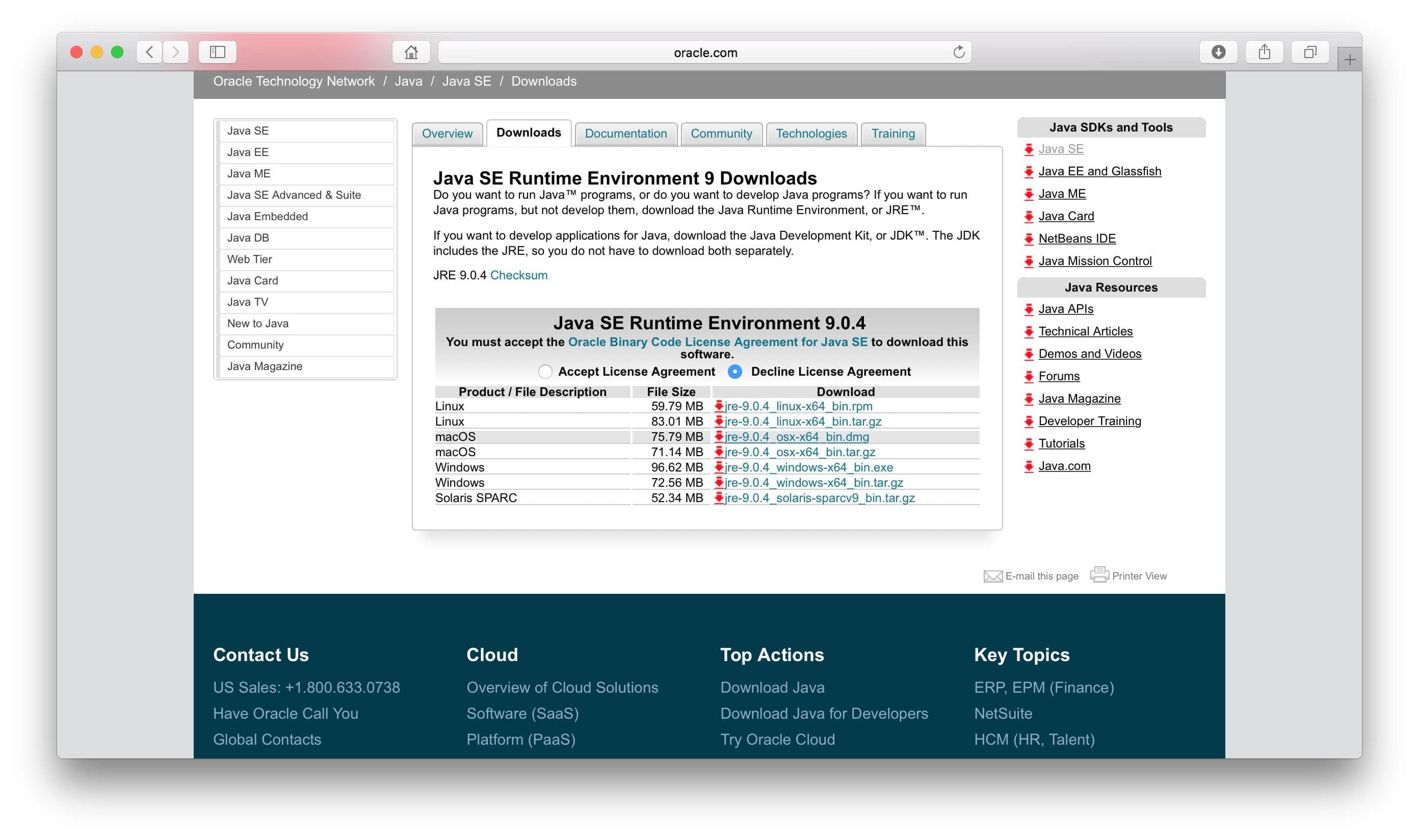 Installer Java macOS High Sierra (10 13) : mode d'emploi - MacBookCity