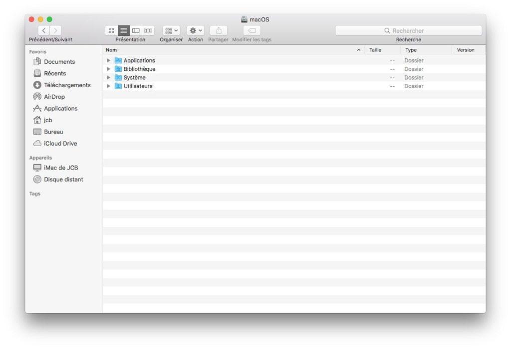 masquer les fichiers caches macOS avec un raccourci clavier