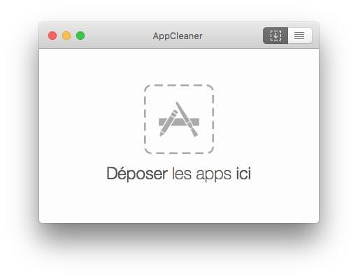 Désinstaller une app sur Mac avec AppCleaner