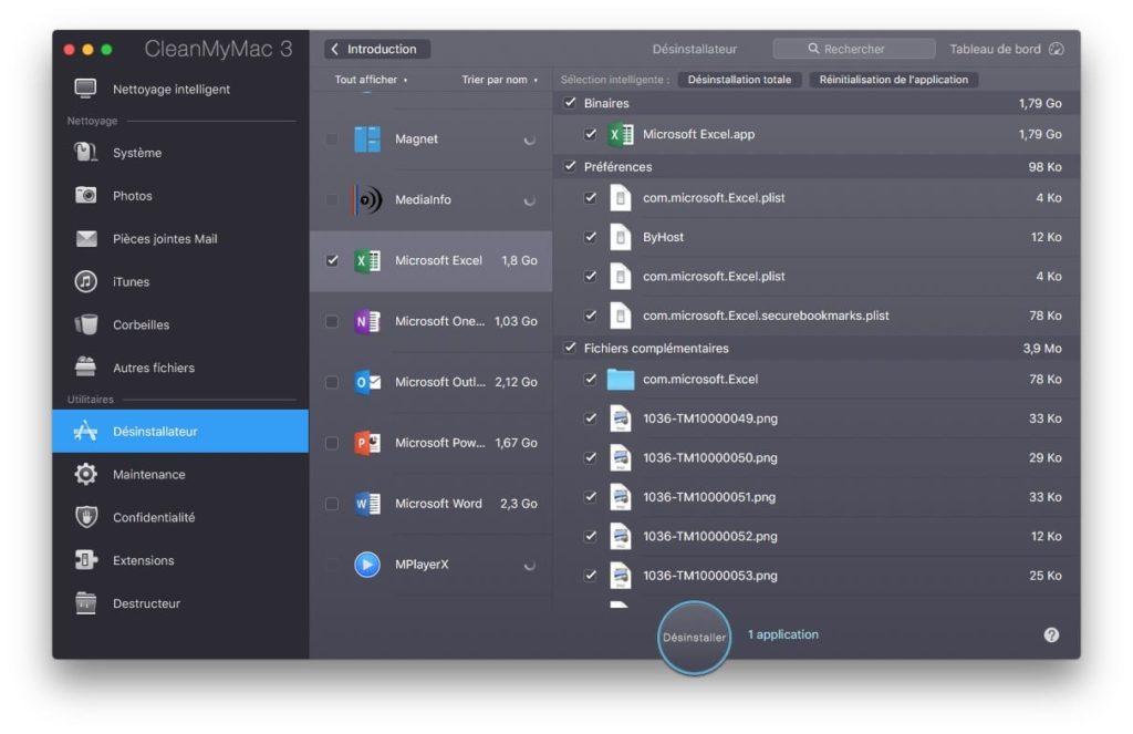 Desinstaller une app sur Mac avec CleanMyMac la reference sur macOS