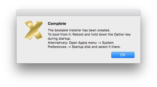 Cle USB bootable de macOS Mojave 10.14