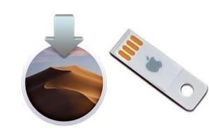 Clé USB bootable de macOS Mojave