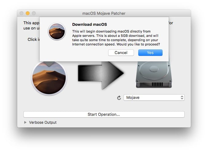 Installer macOS Mojave sur un Mac non compatible download macos mojave