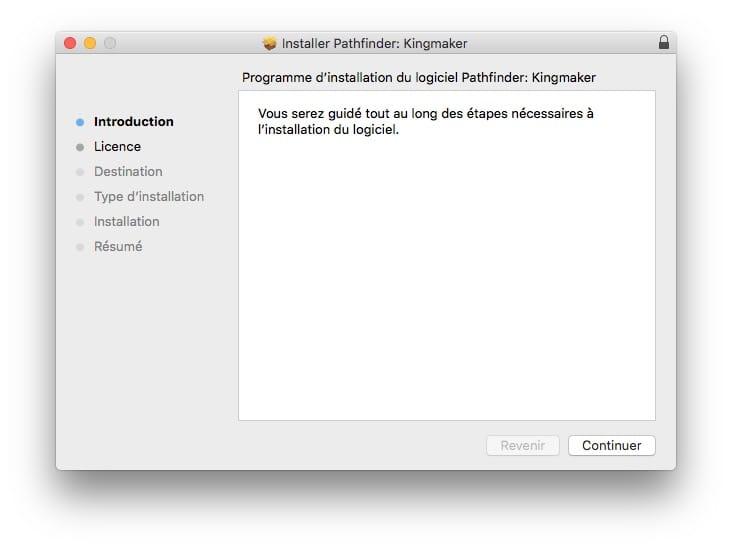 Desactiver la verification pour un fichier PKG sur Mac pour lancer installation directement