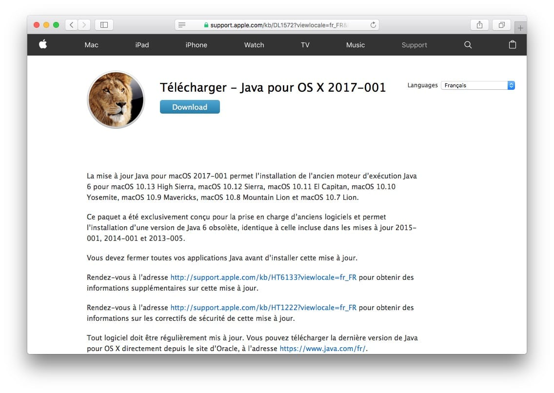 Installer Java macOS Mojave (10 14) : mode d'emploi