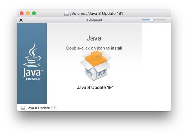Java 8 macos mojave installation