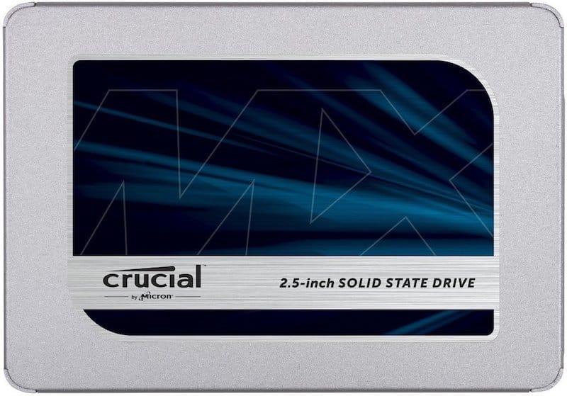 Crucial MX500 SSD Mac