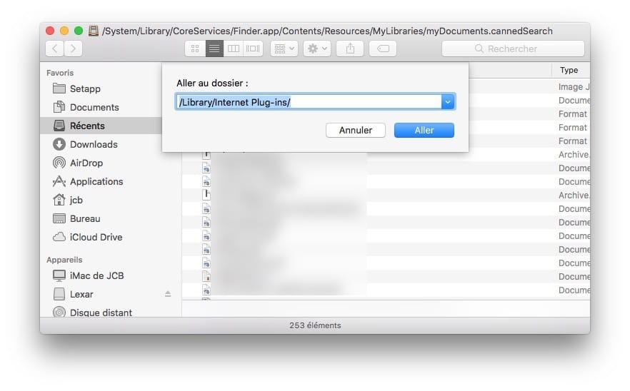 Desinstaller Java de son Mac plug-ins