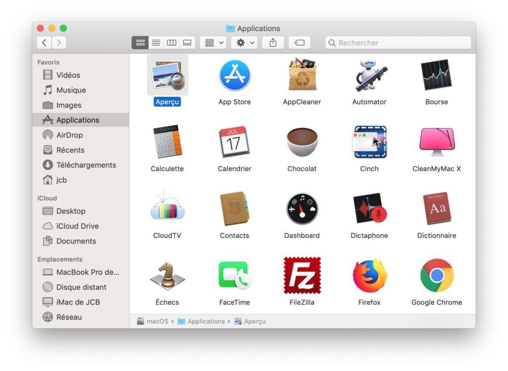 Créer une signature numérique sur Mac avec Apercu Preview
