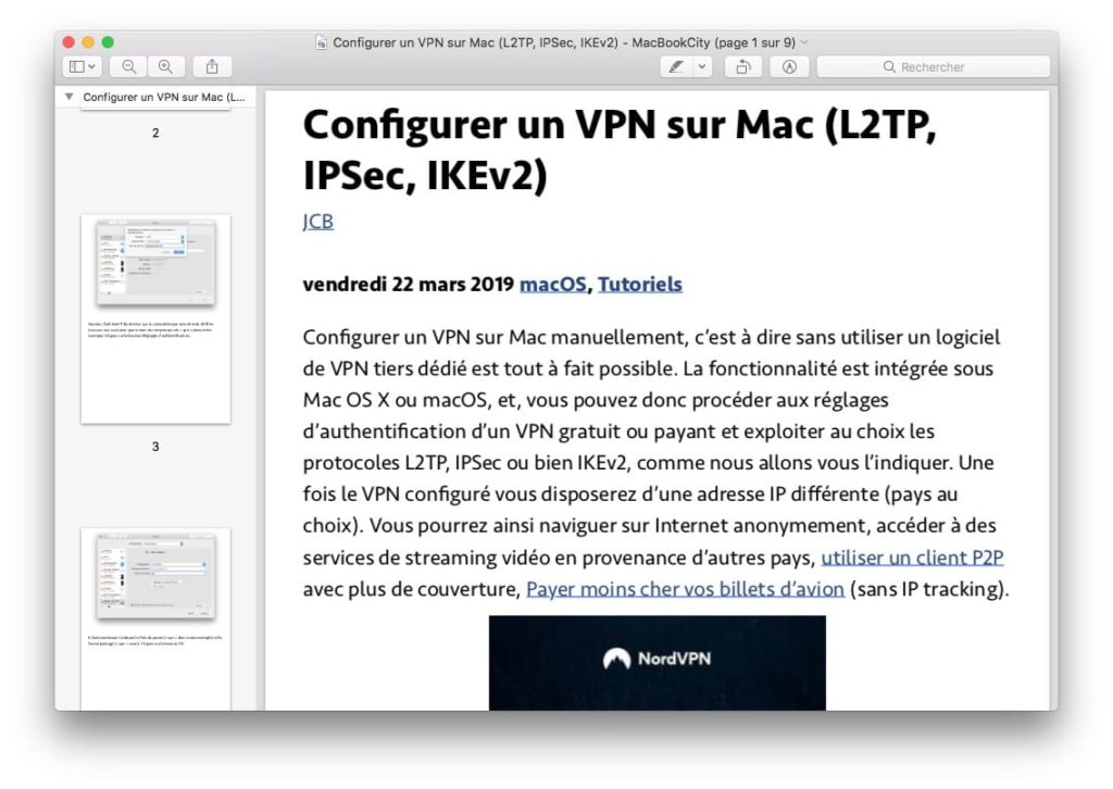 ouvrir pdf sur mac avec apercu