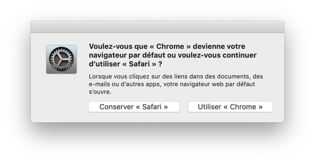 Changer le navigateur web par défaut sur Mac (2 solutions) 2