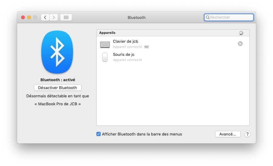 Utiliser un Macbook capot fermé avec clavier et souris bluetooth