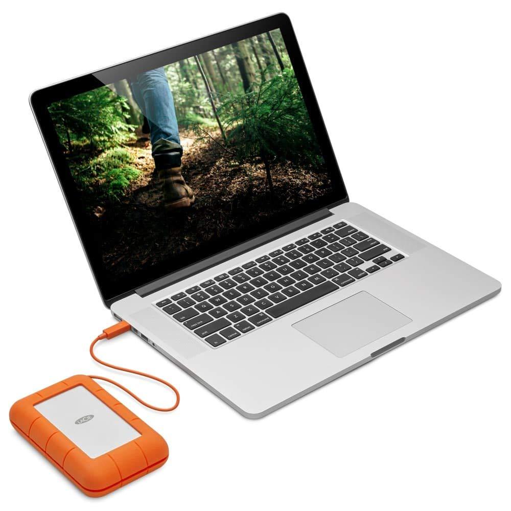 quel disque dur externe pour mon Mac LaCie Rugged Thunderbolt USB-C pour Mac