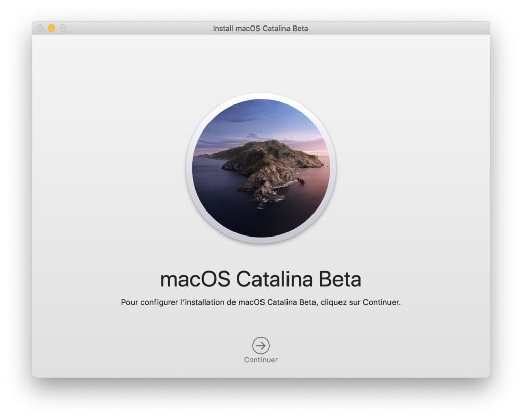 installer macOS Catalina