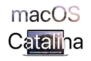 Installer macOS Catalina conseils
