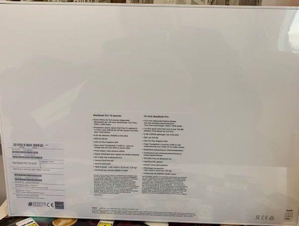 Identifier l'année de son Mac avec emballage d'origine