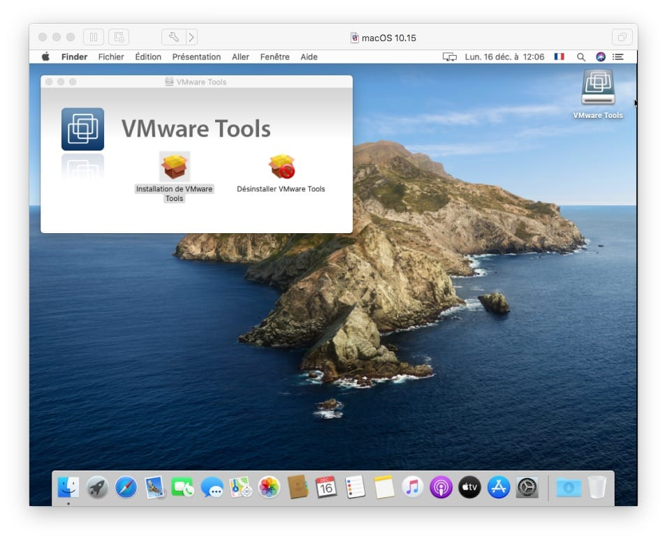 installer vmware tools macos catalina