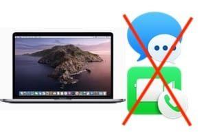 Désactiver Messages et FaceTime sur Mac