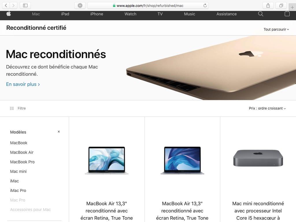 Acheter un Mac doccasion reconditionne pour les neophtyes