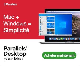 installer windows 10 sur mac avec parallels desktop 16