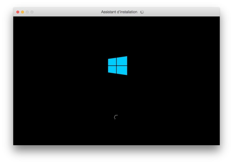 lancement Windows 10 sur macos catalina