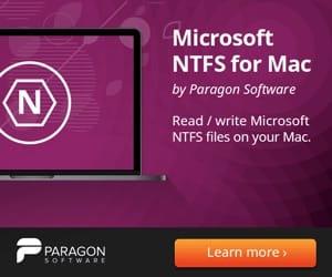 Formater une cle USB en NTFS sur Mac avec microsoft ntfs for mac