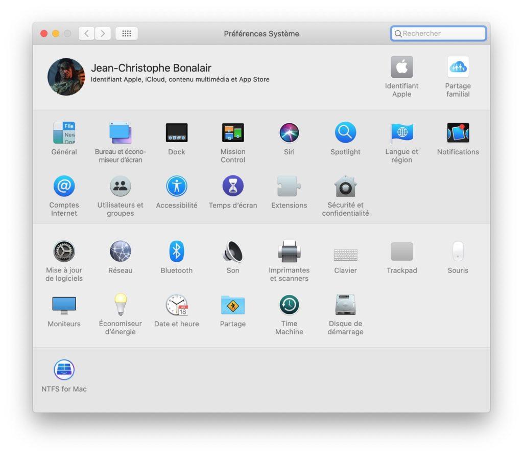 Formater une cle USB en NTFS sur Mac avec paragon ntfs for mac