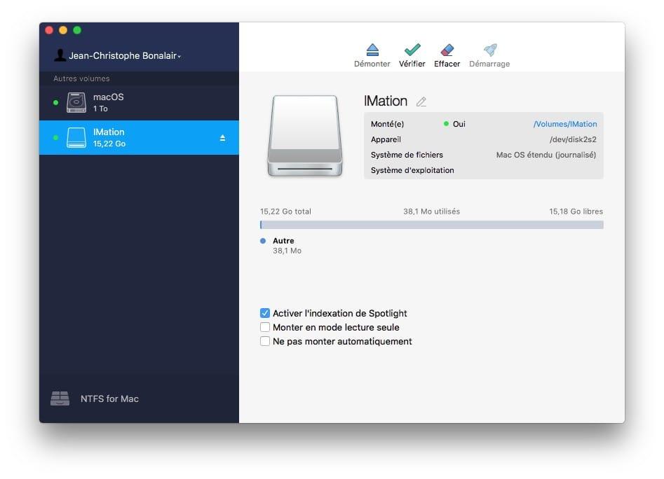 formatage cle usb sur mac en ntfs