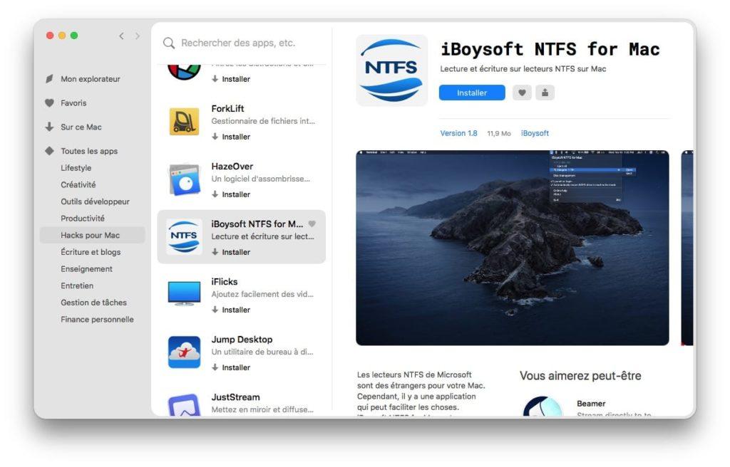 setapp iBoysoft NTFS for Mac