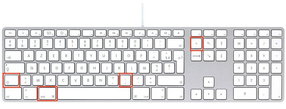 raccourci clavier pour voir fichiers caches macos big sur