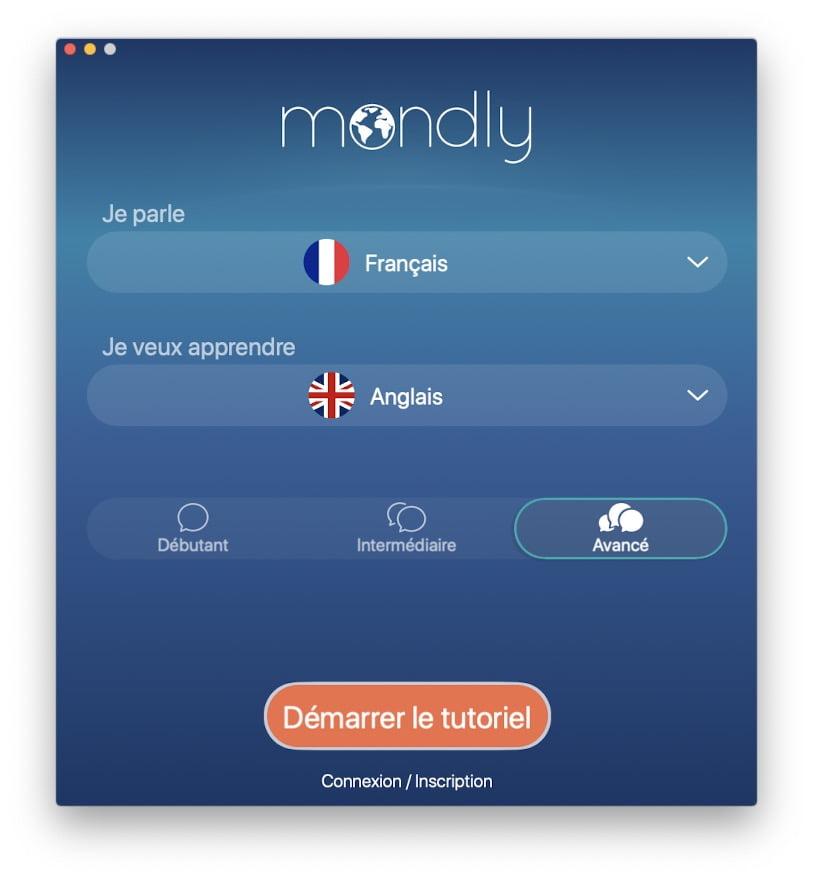 apprendre l anglais sur iPhone