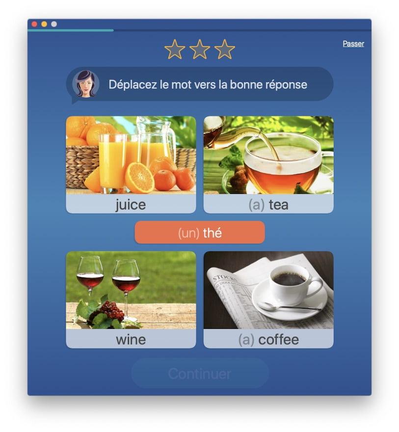 apprendre vocabulaire anglais sur mac