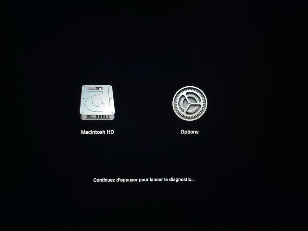 Mode Diagnostic Apple Silicon