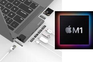 Accessoires pour Mac Apple Silicon : Routeur WiFi 6, Hub, écran Thunderbolt 5K, étui…